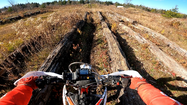 Endurocross Riding at Burnt River MX